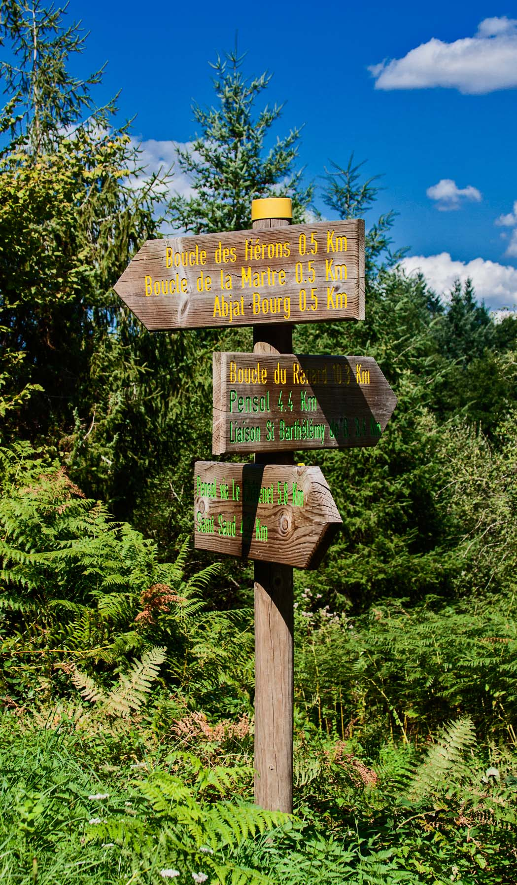 Parcours hiking